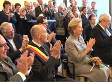 Opening 'vlaamsoogpunt' te Gent door de Koningin
