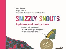 SNIZZLY SNOUTS, the English version of our award winning inclusive children's book
