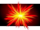 Tekening: een explosie