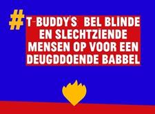 T-BUDDY'S: bel blinde en slechtziende mensen op voor een deugddoende babbel