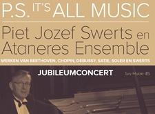 Affiche jubileumconcert Piet Swerts